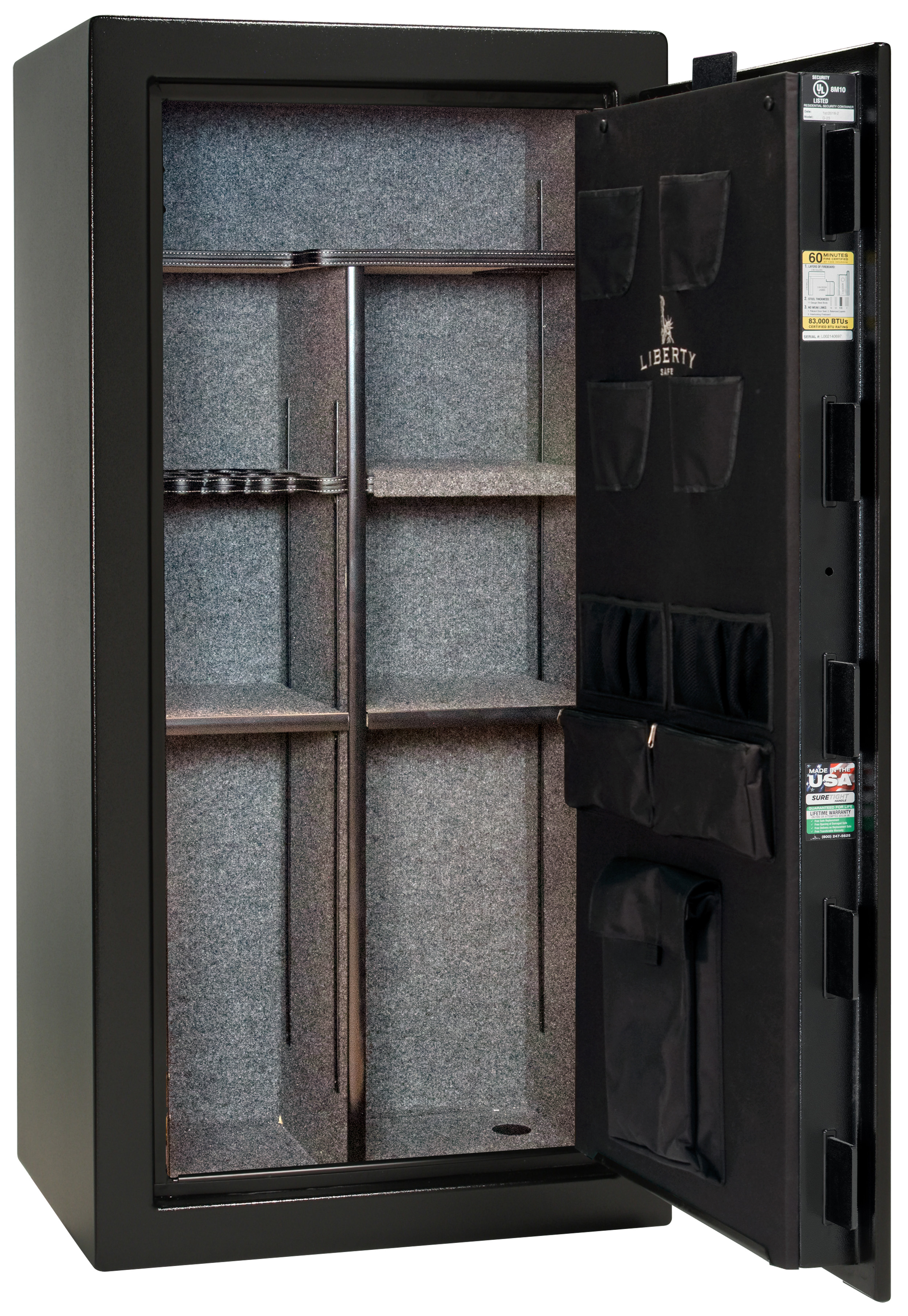 Photo of DM23-BKT Deluxe 23 Black Textured Safe