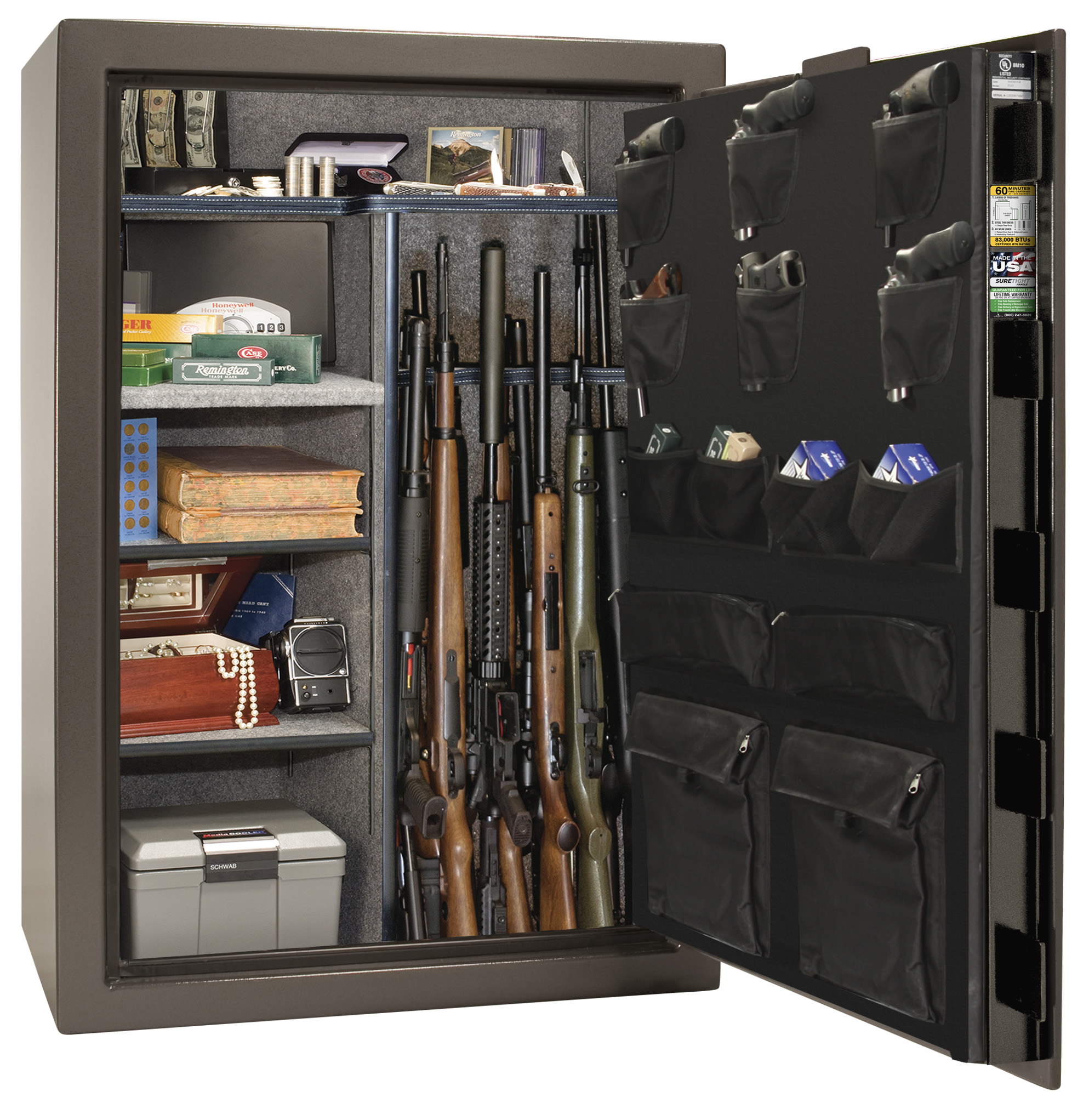 Photo of EQ48-BKT Economy 48 Black Textured Safe