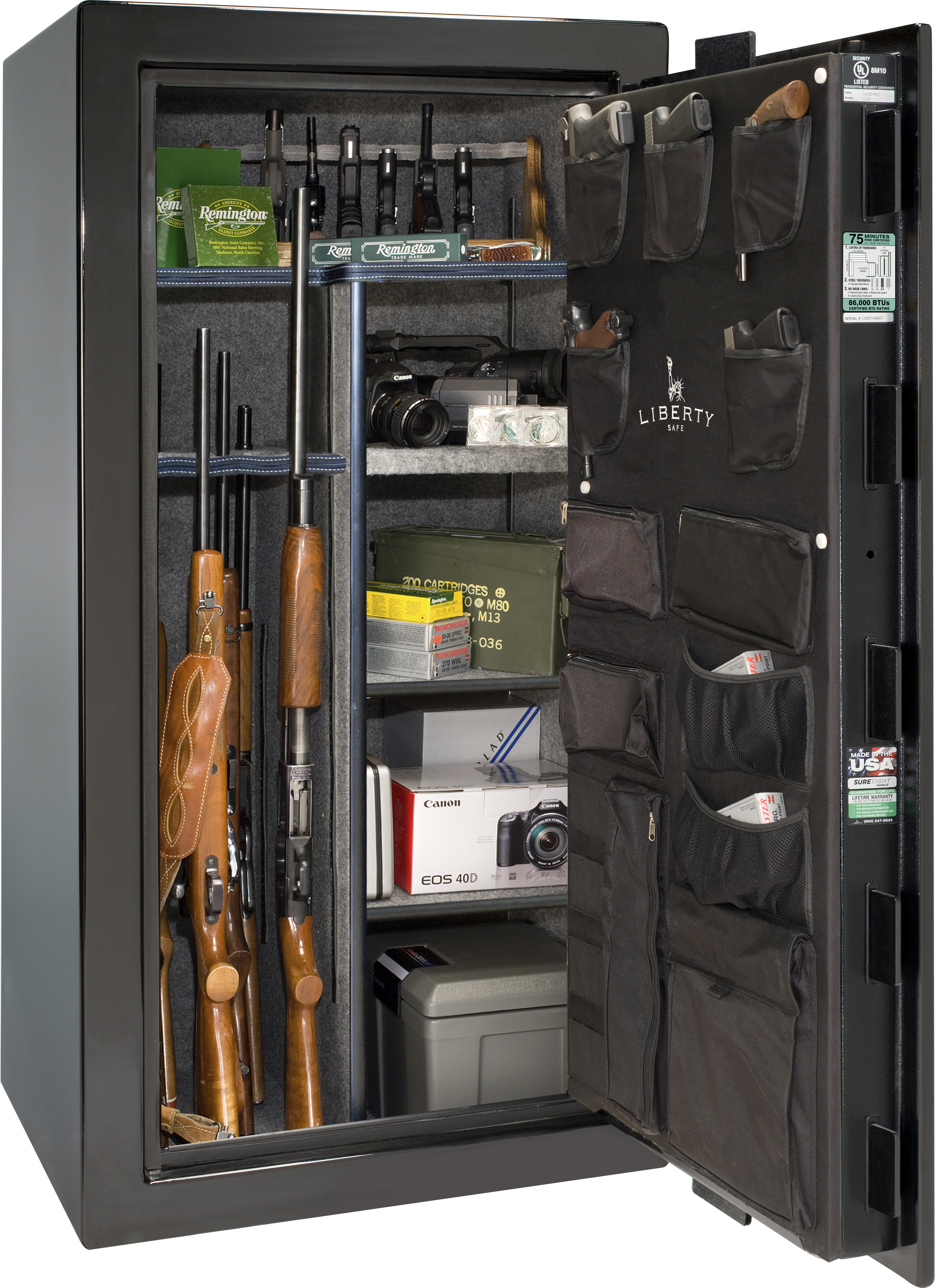Photo of PP25-BKG Premium 25 Black Gloss Safe